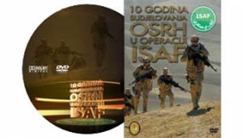DVD 10g sudjelovanja OSRH u operaciji ISAF
