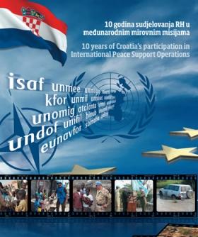 Knjiga 10 godina sudjelovanja RH u međunarodnim mirovnim misijama