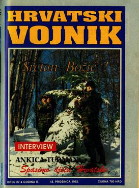 1992 – Broj 27, prosinac
