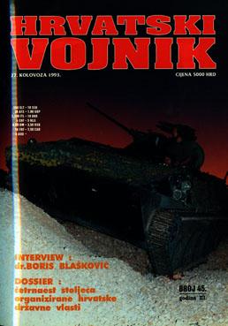 1993 – Broj 45, kolovoz