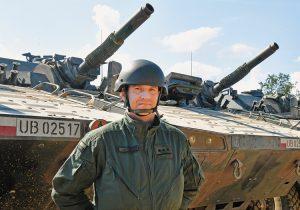 1st Lt. Piotr Jaworski