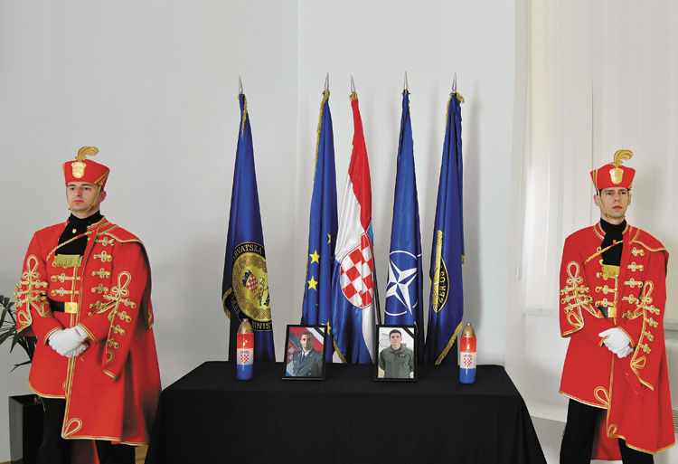 Always to the pride of their families, the Croatian Armed Forces and of the Croatian homeland